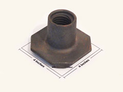 Riser Nut parts for all simes grain bin jacks
