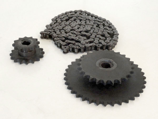 5 Horse Power Drive Unit Chain & Sprocket Set